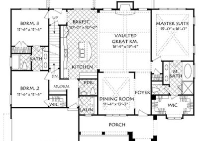 Sierra Valley Floor Plan