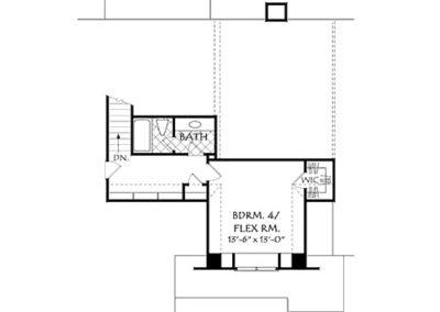 Sierra Valley Floor Plan 2nd Level